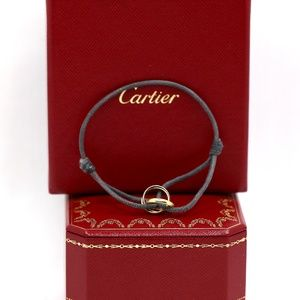 Cartier Rose White and Yellow Forever Bracelet 18k